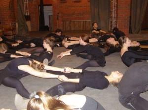Тренинг на актёрском курсе ИРТ. Педагог - Анастасия Фокина